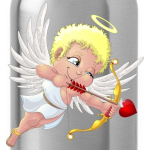 cupid with a halo - Water Bottle