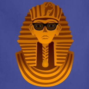 Pharaoh with sunglasses Shirt - Adjustable Apron