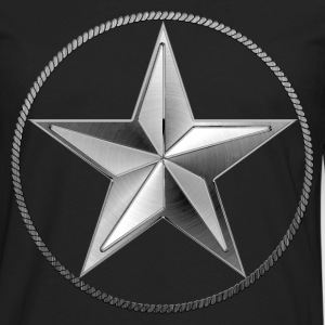 Silver Lone Star - Men's Premium Long Sleeve T-Shirt