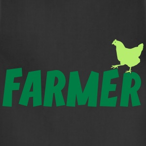 Farmer Farming Agriculture Tee T-Shirts - Adjustable Apron
