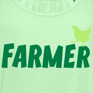 Farmer Farming Agriculture Tee T-Shirts - Women's Flowy Tank Top by Bella