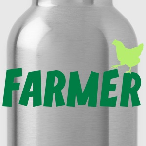 Farmer Farming Agriculture Tee T-Shirts - Water Bottle