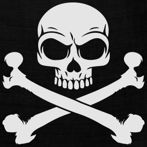 Custom Pirate Skull & Crossbones Jolly Rogers Flag Women's T-Shirts - Bandana