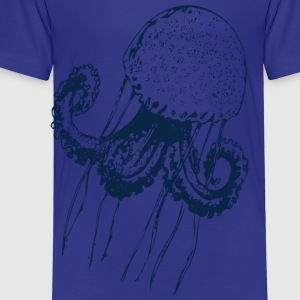 jellyfish jelly fish octopus medusa polyp marine  Kids' Shirts - Toddler Premium T-Shirt