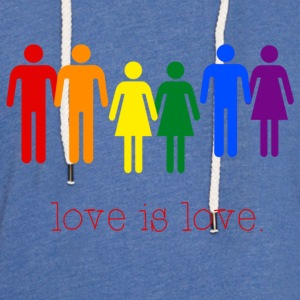 Love Is Love T-Shirts - Unisex Lightweight Terry Hoodie