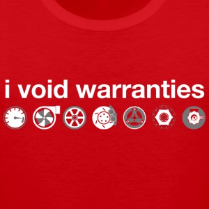 I Void Car Warranties T-Shirts - Men's Premium Tank