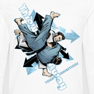 Throw Away Your Inhibitions - Men's Premium Long Sleeve T-Shirt