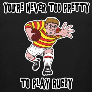 Funny Rugby T-Shirt - Men's Premium Tank