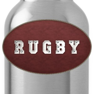 Rugby Leather Riveted T-Shirt - Water Bottle