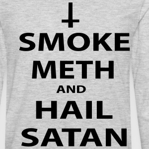 smoke meth T-Shirts - Men's Premium Long Sleeve T-Shirt