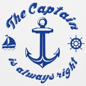 The Captain Is Always Right - Men's Premium Tank
