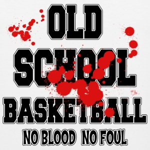 Basketball Old School No Blood No Foul T-Shirt - Men's Premium Tank