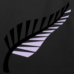 A silver fern symbol of New Zealand Aotearoa T-Shirts - Eco-Friendly Cotton Tote