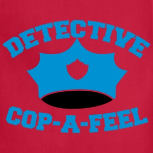 Funny DETECTIVE police man hat COP-A-FEEL Kids' Shirts - Adjustable Apron
