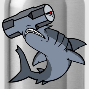 Sledge Hammerhead Shark - Water Bottle