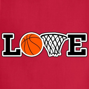 Love Basketball T-Shirt - Adjustable Apron