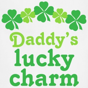 Daddy's Lucky Charm Irish Baby & Toddler Shirts - Adjustable Apron