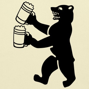 Bear beer T-Shirts - Eco-Friendly Cotton Tote