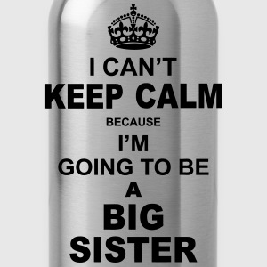 ....i am going to be a Big Sister Baby & Toddler Shirts - Water Bottle