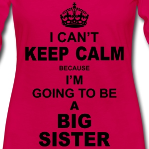 ....i am going to be a Big Sister Baby & Toddler Shirts - Women's Premium Long Sleeve T-Shirt