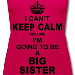 ....i am going to be a Big Sister Baby & Toddler Shirts - Women's Premium Tank Top