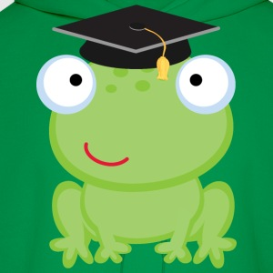 Graduation Frog Kids' Shirts - Men's Hoodie