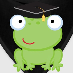 Graduation Frog Kids' Shirts - Bandana