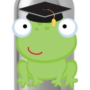 Graduation Frog Kids' Shirts - Water Bottle