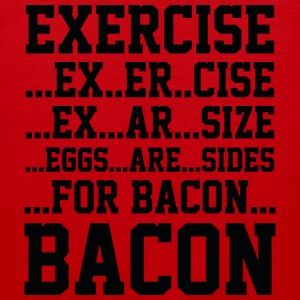 Exercise Bacon - Men's Premium Tank