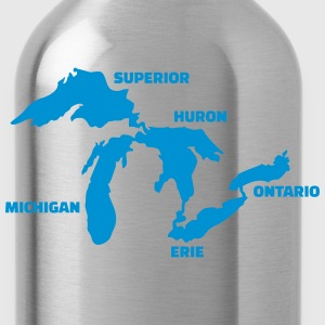 Great Lakes Kids' Shirts - Water Bottle
