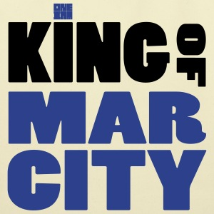 I AM KING - MAR CITY T-Shirts - Eco-Friendly Cotton Tote