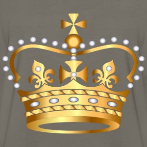 gold king crown2 - Men's Premium Long Sleeve T-Shirt
