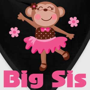 Cute Big Sister Ballerina Baby & Toddler Shirts - Bandana