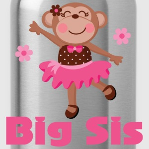 Cute Big Sister Ballerina Baby & Toddler Shirts - Water Bottle