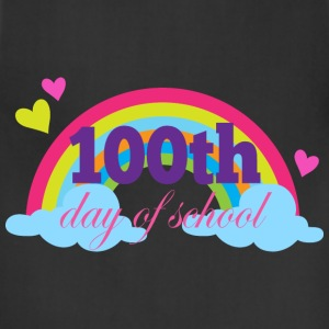 100th Day Of School (Rainbow) Women's T-Shirts - Adjustable Apron