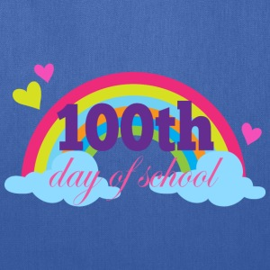 100th Day Of School (Rainbow) Kids' Shirts - Tote Bag