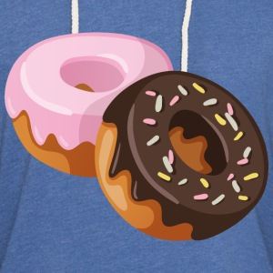two donut - Unisex Lightweight Terry Hoodie
