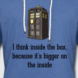 Thinking Inside The Box T-Shirts - Unisex Lightweight Terry Hoodie