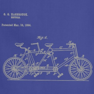 Tandem Bike Conversion Kit 1894 T-Shirt - Adjustable Apron