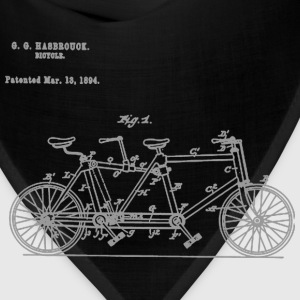 Tandem Bike Conversion Kit 1894 T-Shirt - Bandana