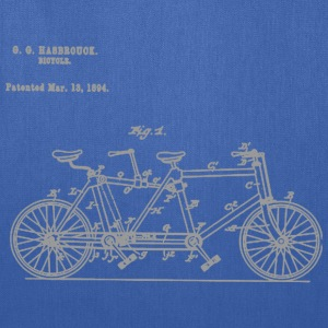 Tandem Bike Conversion Kit 1894 T-Shirt - Tote Bag