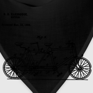 Bicycle Tandem Bike Conversion Kit 1984 T-Shirt - Bandana