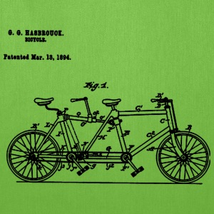 Bicycle Tandem Bike Conversion Kit 1984 T-Shirt - Tote Bag
