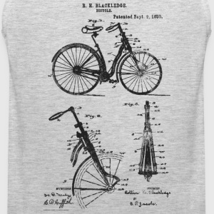 Bicycle Front Suspension Bike 1890 Blackledge T-Sh - Men's Premium Tank