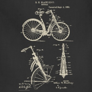 Bicycle Front Suspension Bike 1890 Blackledge T-Sh - Adjustable Apron