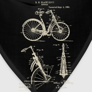 Bicycle Front Suspension Bike 1890 Blackledge T-Sh - Bandana
