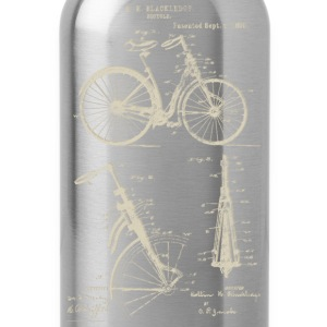 Bicycle Front Suspension Bike 1890 Blackledge T-Sh - Water Bottle