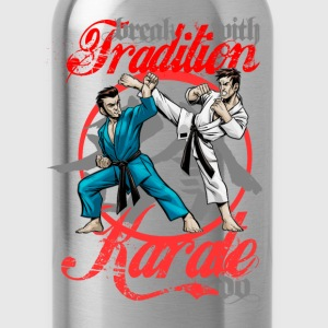 Karate-Do Break With Tradition - Water Bottle