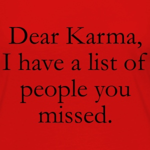 Dear Karma - Women's Premium Long Sleeve T-Shirt