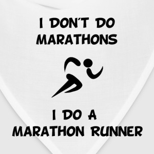 Do Marathon Runner - Bandana